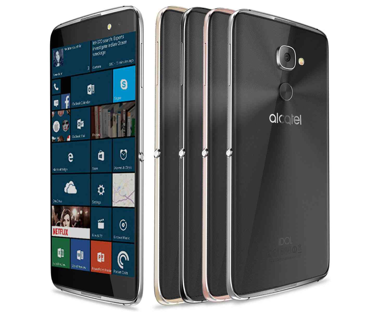 The Alcatel Idol 4S is now available in a Windows 10 flavor