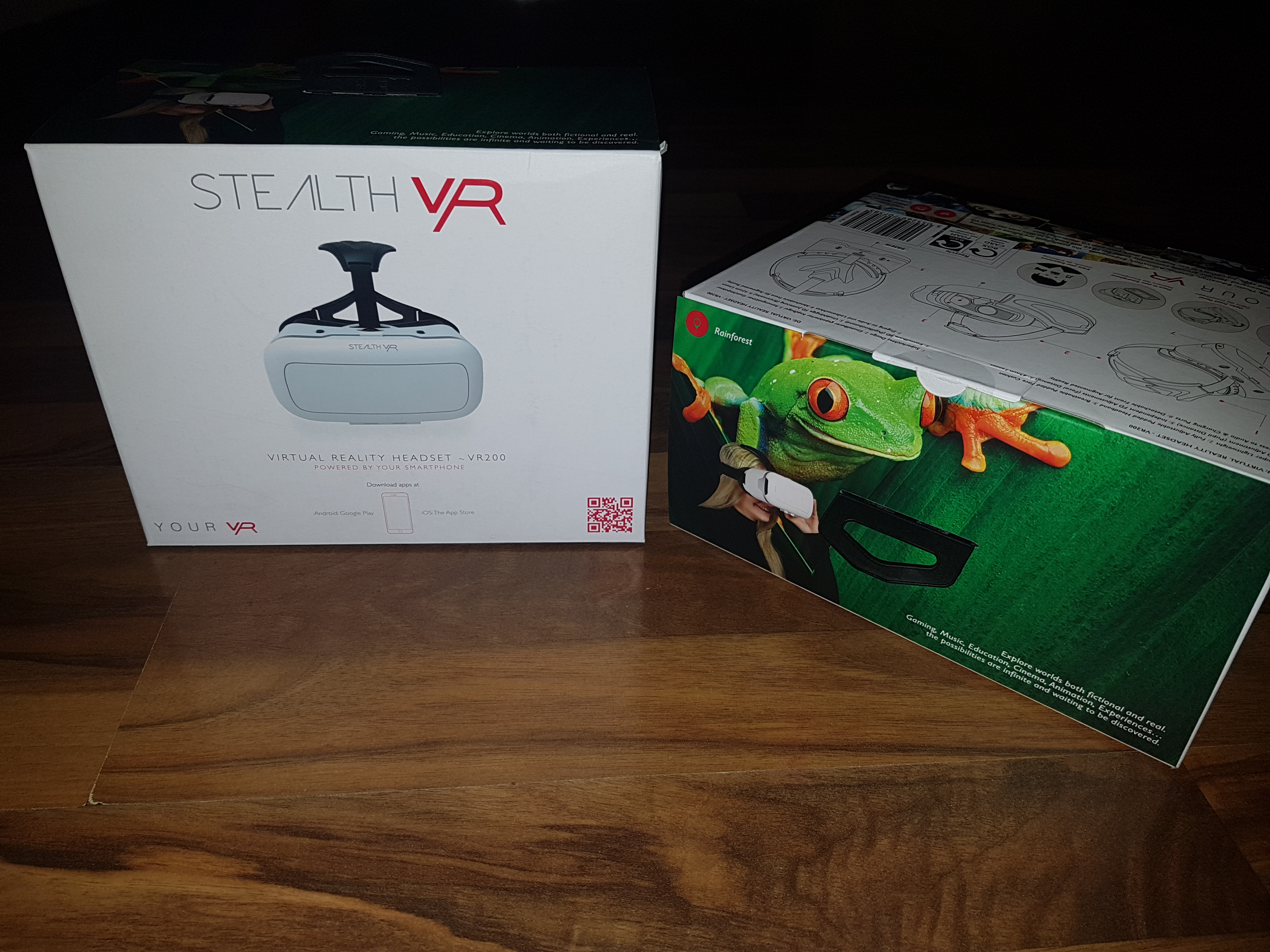 Win 1 of 2 @STEALTH_VR Headsets. Just RT and reply with