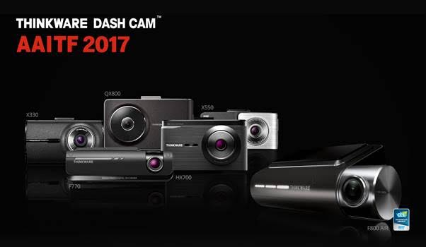 Thinkware showcasing its new cutting edge dashcam for Cutting edge technology news