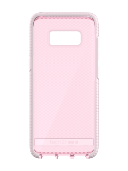 T21-5664 Tech21 Evo Check for Samsung Galaxy S8 - Rose TintWhite (6)