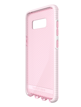 T21-5664 Tech21 Evo Check for Samsung Galaxy S8 - Rose TintWhite (9)