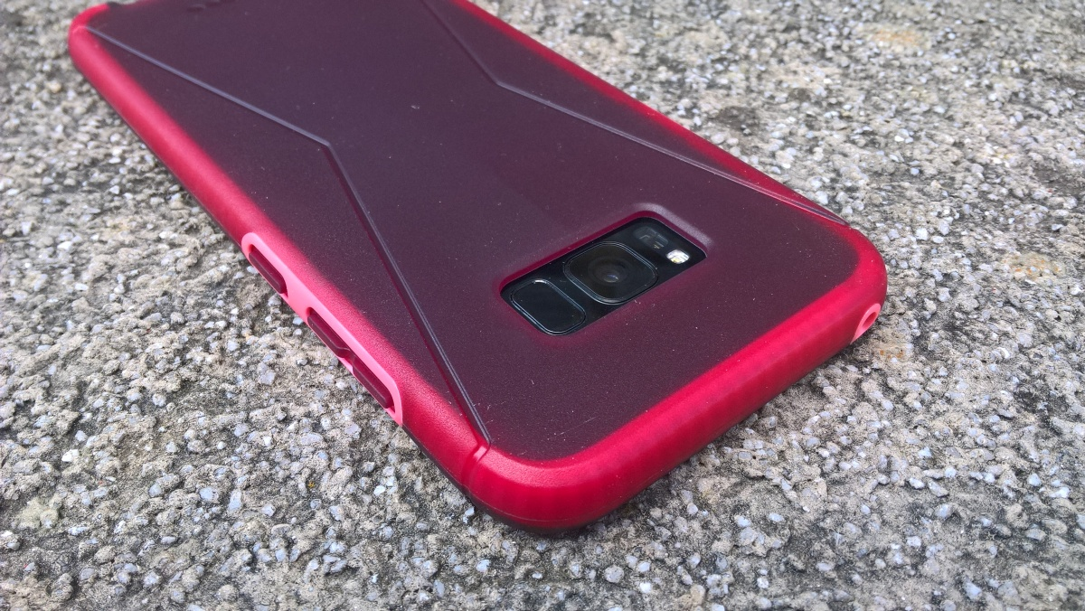 sale retailer 6823a e1adf Review – Tech21 EVO Tactical case in Red for the Samsung Galaxy S8 ...