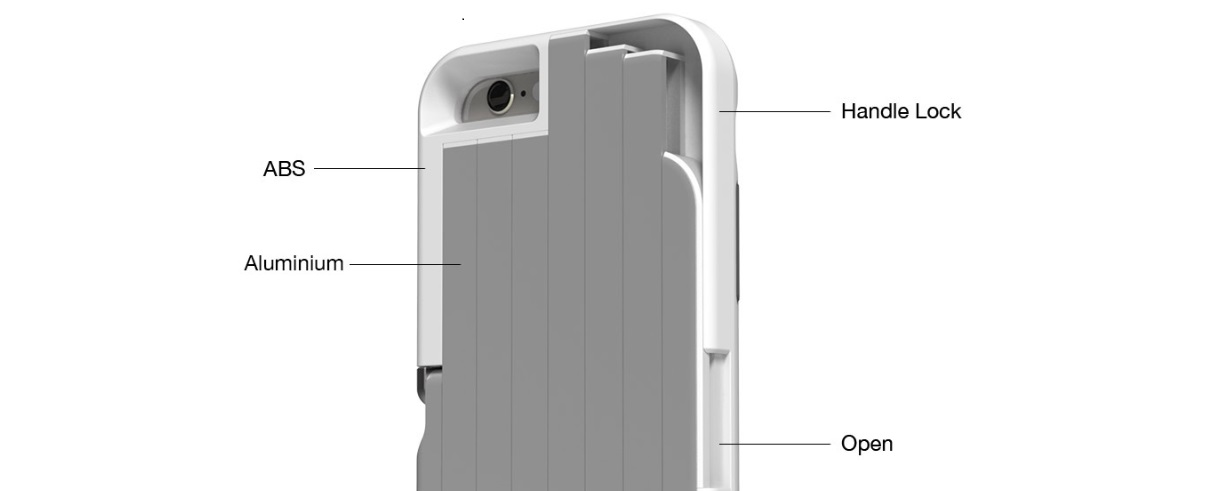 factory price 6b196 e054e StikBox – The first selfie stick case for iPhone and Samsung ...