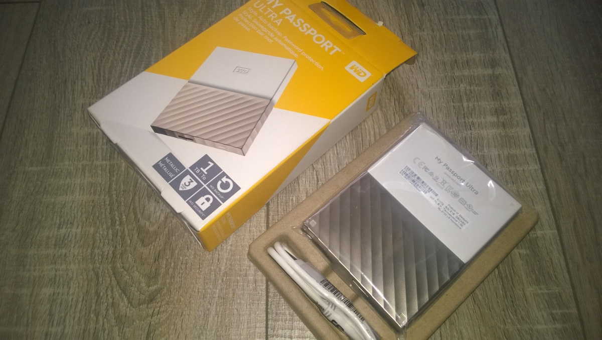 Review Wd My Passport Ultra 1tb White Gold Hard Drive