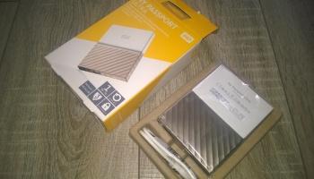 Unboxing – My Passport Ultra, 1TB Portable Storage unit,256