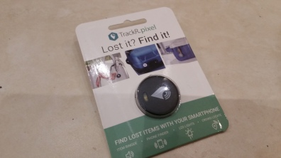 Review – TrackR Pixel  Find misplaced items using your