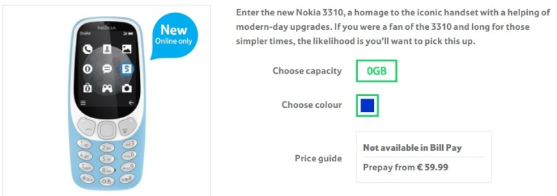 The Nokia 3310 3G now available at Tesco Mobile #Nokia3310 #3G