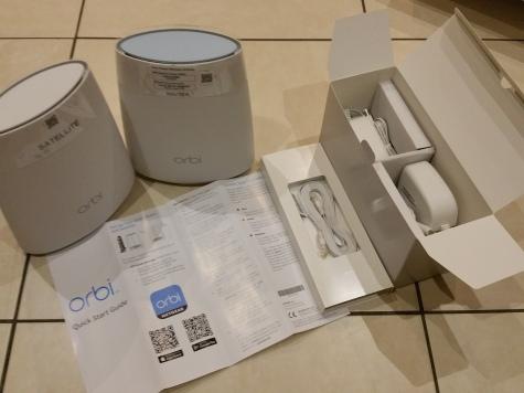 Review – The NETGEAR Orbi AC2200 RBK40 #Netgear #WiFi #tech