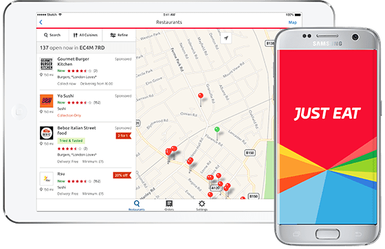 Just Eat Announces No Minimum Spend On Lunchtime Orders With