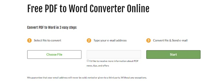 Free Pdf To Word Converter Online Pdf Cloud Ocr Word Docs
