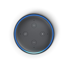 Echo Dot, Charcoal, Top