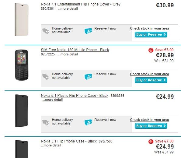 best authentic 75db6 2c816 Nokia 8.1/7.1 – 5.1/3.1 Plus and accessories drop into Argos. #Nokia ...