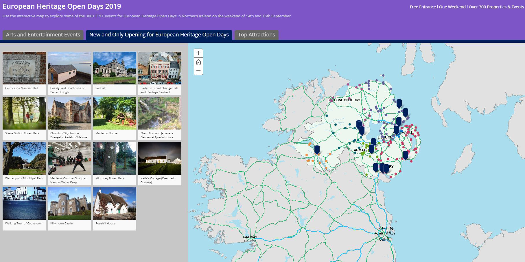 Digital map helps visitors uncover history at European ... on satellite map of ireland, interactive body map, parks of ireland, glossary of ireland, map of western ireland, county map of ireland, blank map of ireland, statistics of ireland, interactive map united kingdom, overview of ireland, location on map of ireland, site map of ireland, production map of ireland, simple map of ireland, entertainment of ireland, road map of ireland, resources of ireland, restaurants of ireland, big map of ireland, interactive map switzerland,