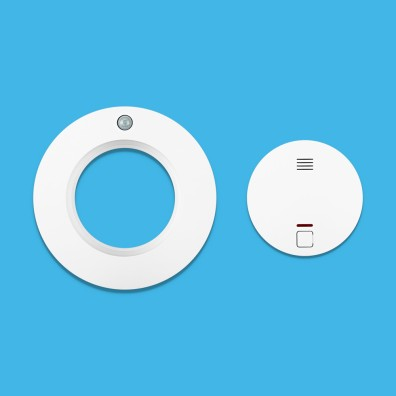 Livy Protect - Smoke Detector_top_blue