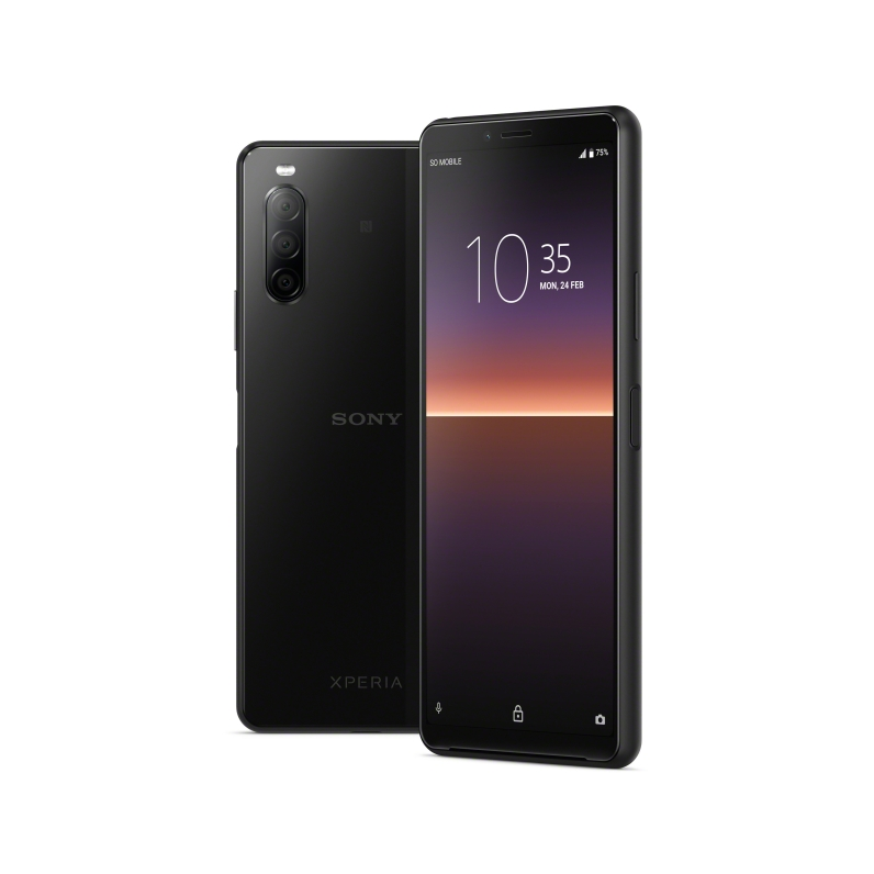 Xperia 10 II_Group_Black