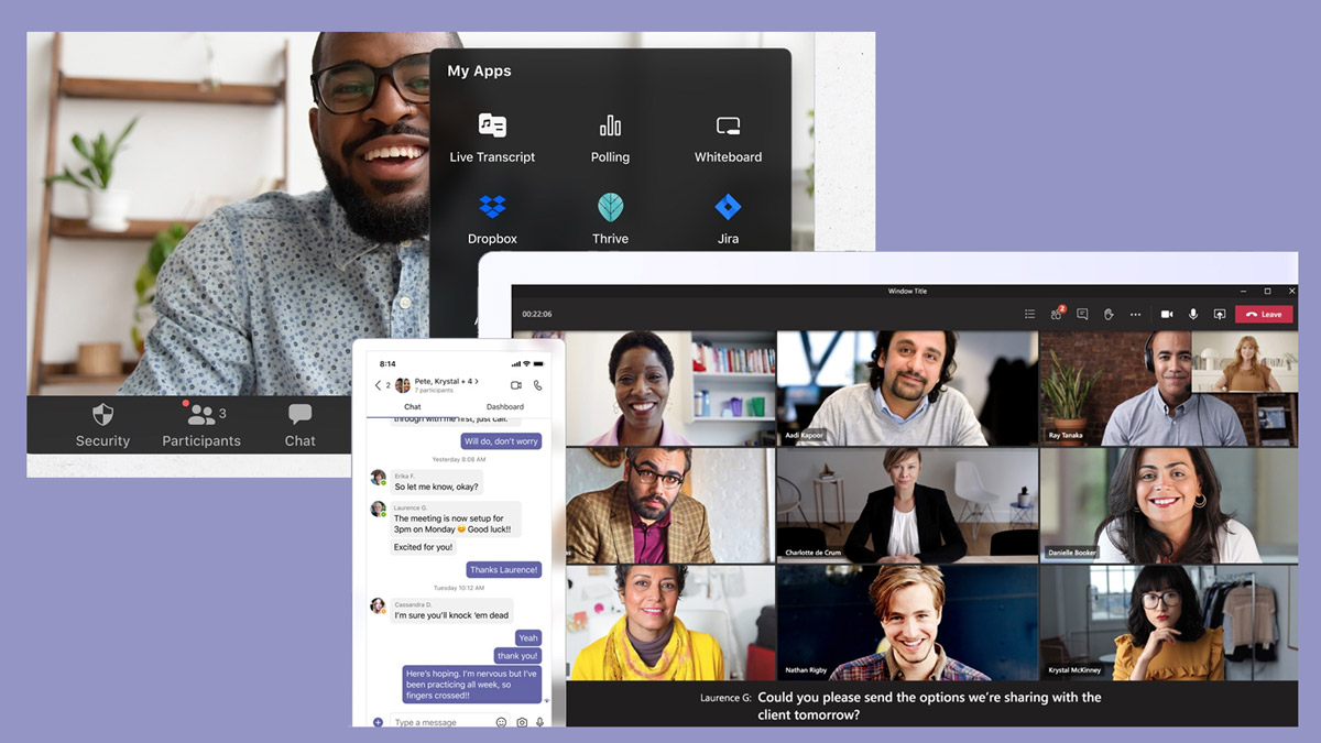 zoom and microsoft teams